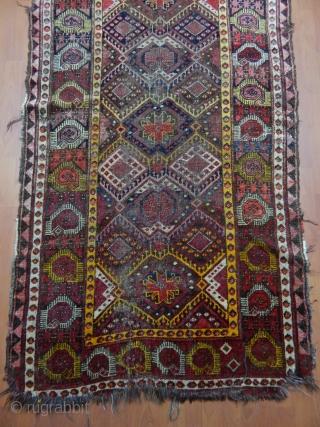 Antique Kırgız Rug  Size.320x110cm