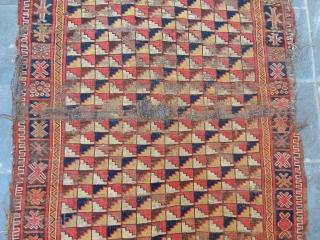 Antique Turkmen Besir Rug