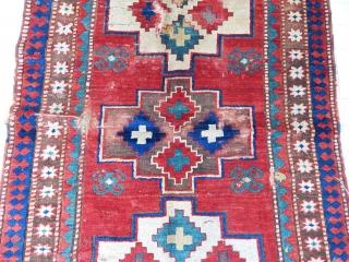 Antique Wonderfull Kazak Rug