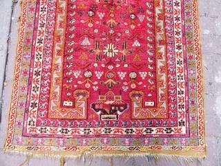 Antique Anatolian Kırsehır Prayer Rug  size.115x90cm