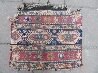 Antique Caucasian Sumak Panel