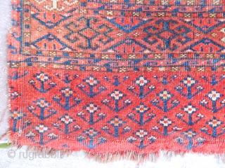 Antique Turkmen Salor Chuval