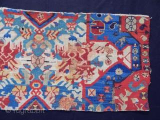Antique Causaian Zeyhur Rug Fragment
