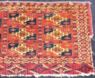 Antique Turkmen Tekke Fragment  Size.29x53cm