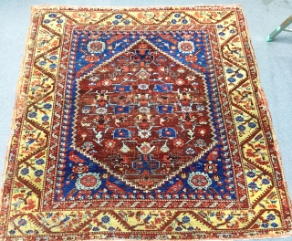 Antique West Anatolian Kula Rug