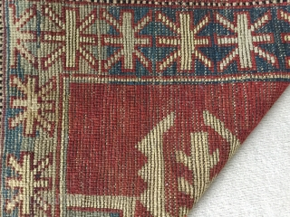 Charming elegant Avar. In excellent condition. About 1900. Great border. 160 by 97 cm.