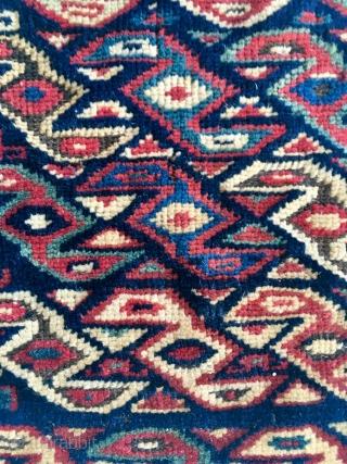 Little Shasavan (?) Fragment, great dyes. 31 cm x 31 cm