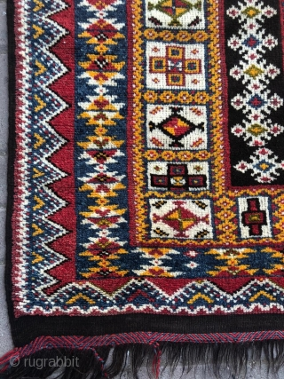 Vintage morrocan Berber rug.