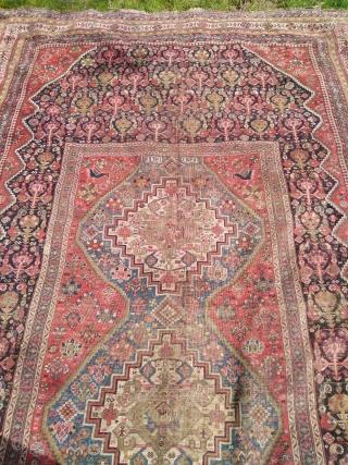 Antigue south West perisan, khamseh rugs. Cırca 1911_size 400x200.