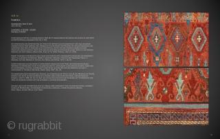 "Lot 13, Sarkisla Rug, East Anatolia, late 17th century, 203 x 147 cm (6' 8"" x 4' 10""), Auction on November 16 at 4pm, https://www.liveauctioneers.com/item/77289548_sarkisla-rug"