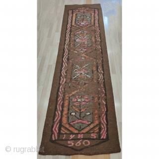 Anatolian Felt Rug 430x124 cm