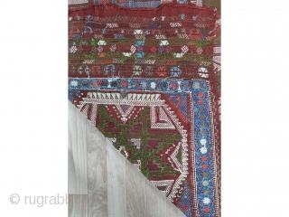 "Central Anatolian Obrug cicim 165x130cm/5'5""x4'3"""
