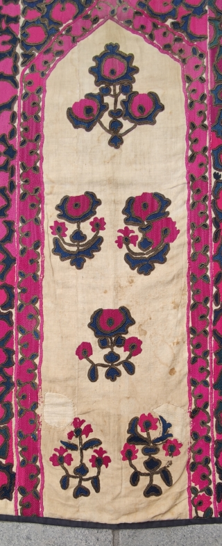 "Uzbek tashkent suzani Size:153x104cm /5""x3'5"""