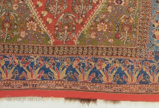 "A superb Kashkuli Qashqai recently acquired.  In excellent, near perfect original condition. Gorgeous color palette. 5'7"" x 3'7.
