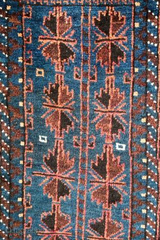 Nice Baloutche bag , good condition ,  first twenty century ...  Size: 100/45 cm