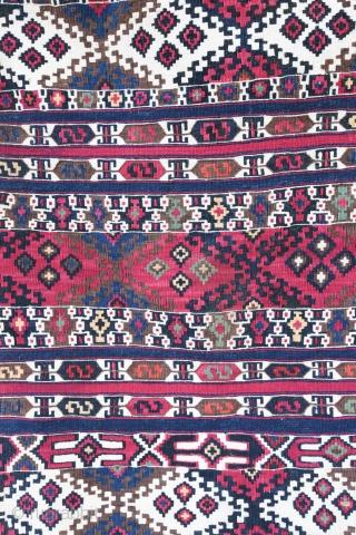 Nice Malatya çuval , gorgeous colors . Early 20 century  Size 97/85 cm