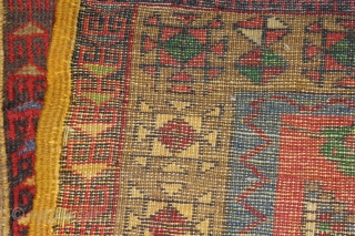 Konya Mid-18th century, Wool on Wool Naturalcolor, good condition. Size: 280x117cm