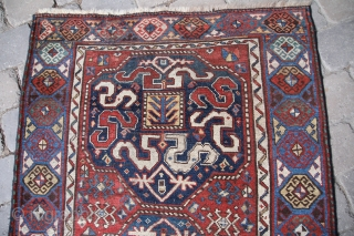 Chondsoresk about 1900, wool on wool, vegetable Colours, good condition, size:2,72 x 1,09 m