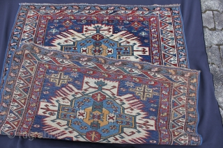 Zejwa  Schirwan around 1880 Wool on Wool with natural colors Very good condition Size: 148x122 cm