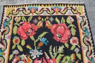 Karabagh Kelim Wool on Wool good condition size: 250 x 150 cm