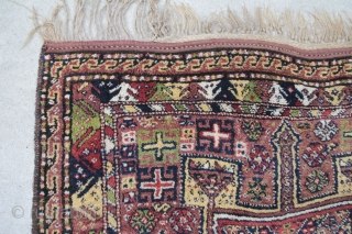 Kordi Quchan, wool on wool, condition excellent, size: 2,34 x 1,33 m