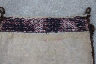 Jomud Bag 0,44 x 0,39 m, wool on wool, very good condition