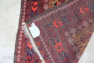 Beludsch 1,61 x 0,99 m, wool on wool, very good condition