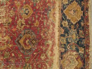 Central Persian Isfahan Carpet Safavid Era First Half