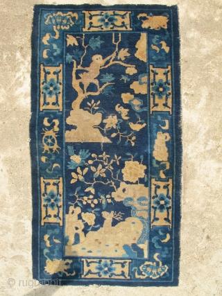 1900 Chinese Monkey rug