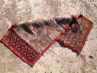 An Ottoman Greek Embroidery. 36 x 16 inches.