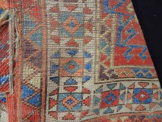 Fabulous Aksaray - Cappadocia fragment, Kirchheim quality, great colors, 18th c.