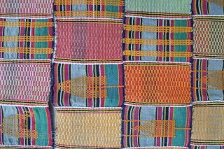 Ewe Cloth, made of 19 stripes.