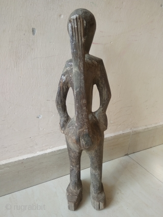 Old Vintage Antique Naga Statue, Tribal Statue, Handicraft Statue, Art Deco.