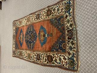 "Antique Bidjar 4'3 by y 7'4"" Beautiful design and colors  $1,895"