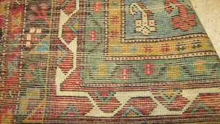 anatolian '''çal''' carpet  with nice condition size: 130x107