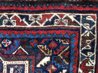Beautiful Khamseh khorjin/saddle bag. Southern Iran. Cm 75x132 and 75x260 when open. The bag has been opened on both sides in order to prevent any moth problem. Imo it should be at  ...