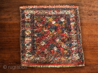 Shahsavan sumack bag face. Cm 56x57. It has got everything you might want at best: beauty, colors, age, weave, balance, condition, price. Mint condition.
