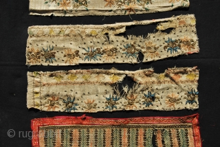 Nine Ottoman embroidered towel & napkin fragments. They should be either end of the 19th or early 20th century. Anybody interested? It was especially in the last years of the Ottoman empire that the  ...