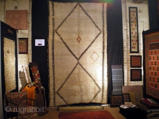 666K Beni Ouarain rug, early 20th century, cm 320x195. This is one of the few really very old pieces, In good condition. -----