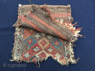 Super Shahsavan sumack bag. Cm 29x29. Wool & wool. Wonderful colors. Wonderful pattern. A real killer. Not really willing to sell, but, if interested, well, let's talk.