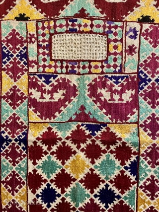 Tajik veil 19. C.