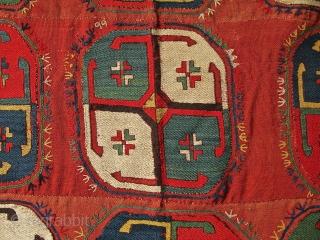 Uzbek Lakai Aygilem.size 360 x 126 cm,silk embroidery on wool.