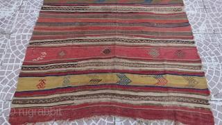 Central Anatolian Tribal Kilim 178*140 cm