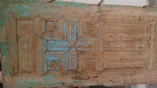 Ottoman period Greek door from cappadocia Size =182*82 cm