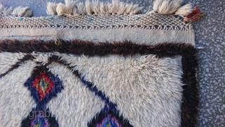 Central Anatolian Obruk Tulü Rug Size =240*120cm