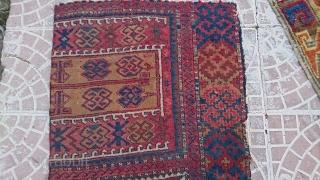 Anatolia cankırı rug  frakment size=123x63