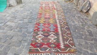 Anatolian Aksaray half kilim  size=320x97cm