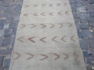 Konya Karapınar Runner kilim 340*90