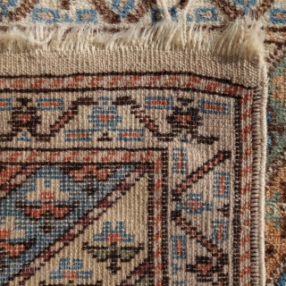 Antique, Turkish rug, natural colours, 120x76cm