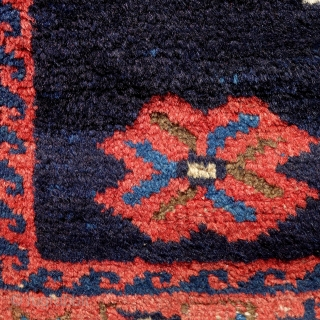 Antique Afshar, 180x127cm,natural colours, glossy wool,slightly corroded brown, clean, ready to become your friend.